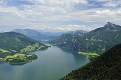 Mondsee Royalty Free Stock Images