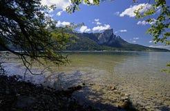 Mondsee, Salzkammergut, Austria Foto de archivo