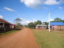 Cambodia Mondulkiri Province very interest for touris Royalty Free Stock Photography