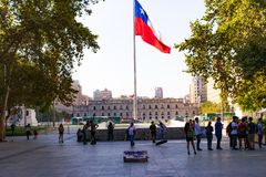 Moneda Λα, Σαντιάγο de Χιλή στοκ εικόνες με δικαίωμα ελεύθερης χρήσης