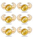 moneda Fotografía de archivo libre de regalías