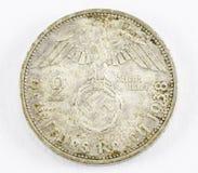 Moneda alemana del Reich imagen de archivo