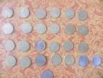 Moneda antigua india fotografía de archivo