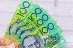 Moneda australiana Foto de archivo libre de regalías