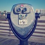 Moneda binocular Imágenes de archivo libres de regalías