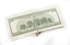 Moneda bloqueada del concepto de las finanzas Fotos de archivo