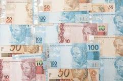 Moneda brasileña - real Fotos de archivo libres de regalías