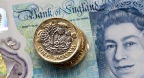 Moneda británica 2017 Foto de archivo libre de regalías