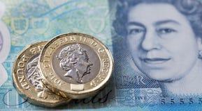 Moneda británica 2017 Imagen de archivo libre de regalías