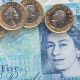 Moneda británica 2017 Imagen de archivo