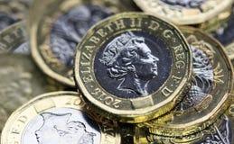 Moneda británica 2017 Foto de archivo