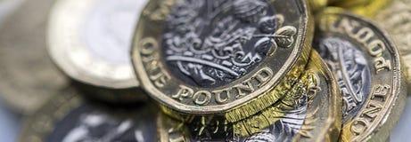 Moneda británica 2017 Imagenes de archivo