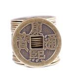Moneda china imagenes de archivo
