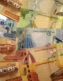 Moneda de Bahrein imagen de archivo