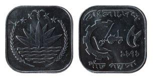 Moneda de Bangladesh imagenes de archivo