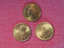 Moneda de 50 centavos del EUR Foto de archivo libre de regalías