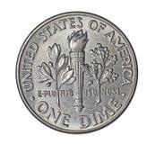 Moneda de diez centavos americana