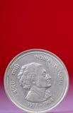 Moneda de Indira Gandhi imagen de archivo libre de regalías