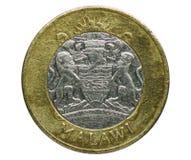 Moneda de 10 kwachas, banco de Malawi Invierta, 2006 imagenes de archivo