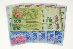 Moneda de la Argentina foto de archivo libre de regalías