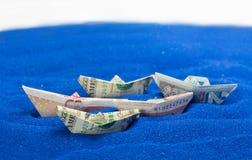 Moneda de la UE de USD GBP Fotografía de archivo libre de regalías