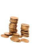 Moneda de las monedas fotografía de archivo