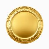 Moneda de oro Imagen de archivo libre de regalías