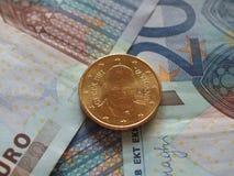 Moneda de papa Francisco I Fotos de archivo