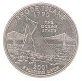 Moneda del dólar cuarto imágenes de archivo libres de regalías