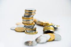 Moneda del dinero Imagen de archivo libre de regalías
