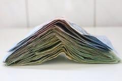 Moneda del dinero del ahorro de Tailandia Fotografía de archivo libre de regalías