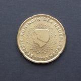Moneda del EUR Fotografía de archivo libre de regalías