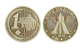 Moneda del recuerdo Fotografía de archivo libre de regalías