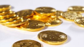 Moneda descentralizada Made As First modelo Bitcoin del metal