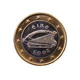 Moneda digno de un euro Fotos de archivo