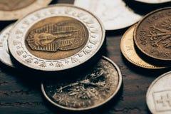 Moneda egipcia imágenes de archivo libres de regalías