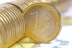 Moneda euro Imagenes de archivo
