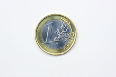 Moneda euro Foto de archivo
