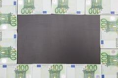 Moneda euro del dinero Imagen de archivo