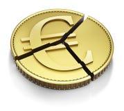 Moneda euro rebanada libre illustration