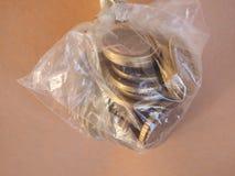 1 moneda euro, unión europea Fotos de archivo libres de regalías