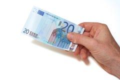 Moneda europea Foto de archivo libre de regalías
