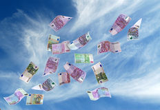 Moneda europea Fotos de archivo libres de regalías