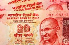 Moneda india fotos de archivo libres de regalías