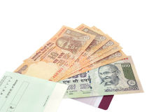 Moneda india Imagenes de archivo