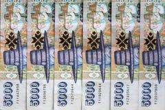 Moneda islandesa Foto de archivo libre de regalías