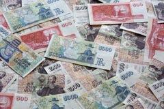 Moneda islandesa Fotos de archivo