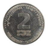 Moneda israelí Fotografía de archivo