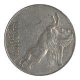Moneda italiana Imagen de archivo