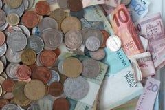 Moneda mezclada Fotografía de archivo